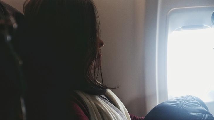 No avião da Amaszonas Airline