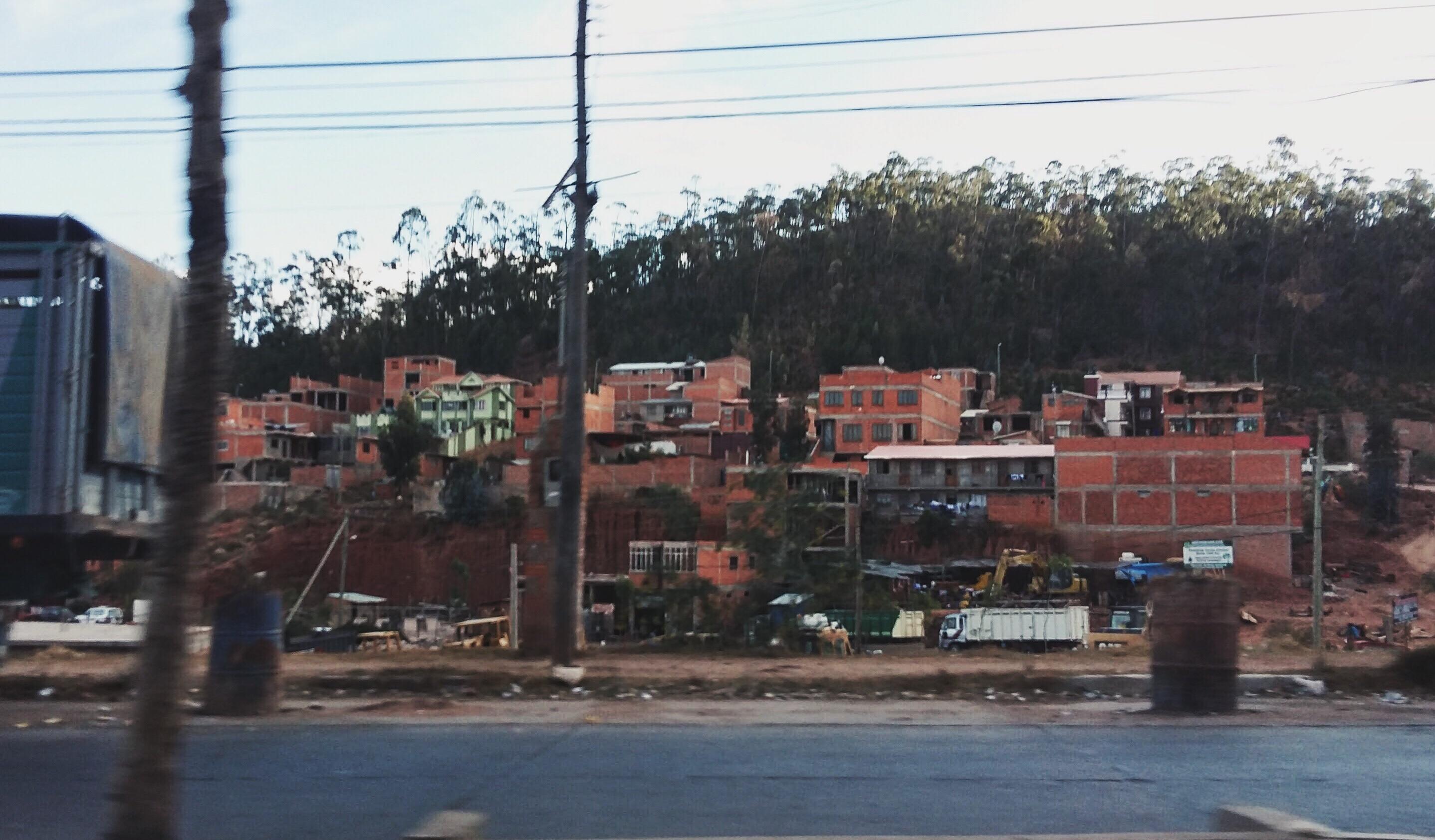 Chegando na cidade de Sucre