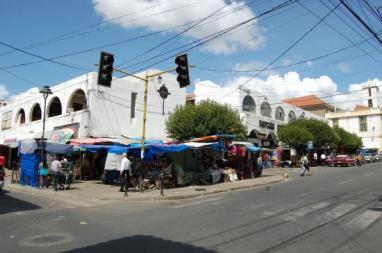 Mercado Central em Sucre - Imagem da Internet
