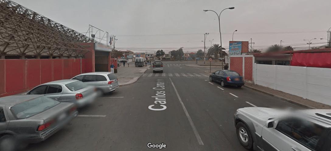 Rodoviária e ponto de táxi