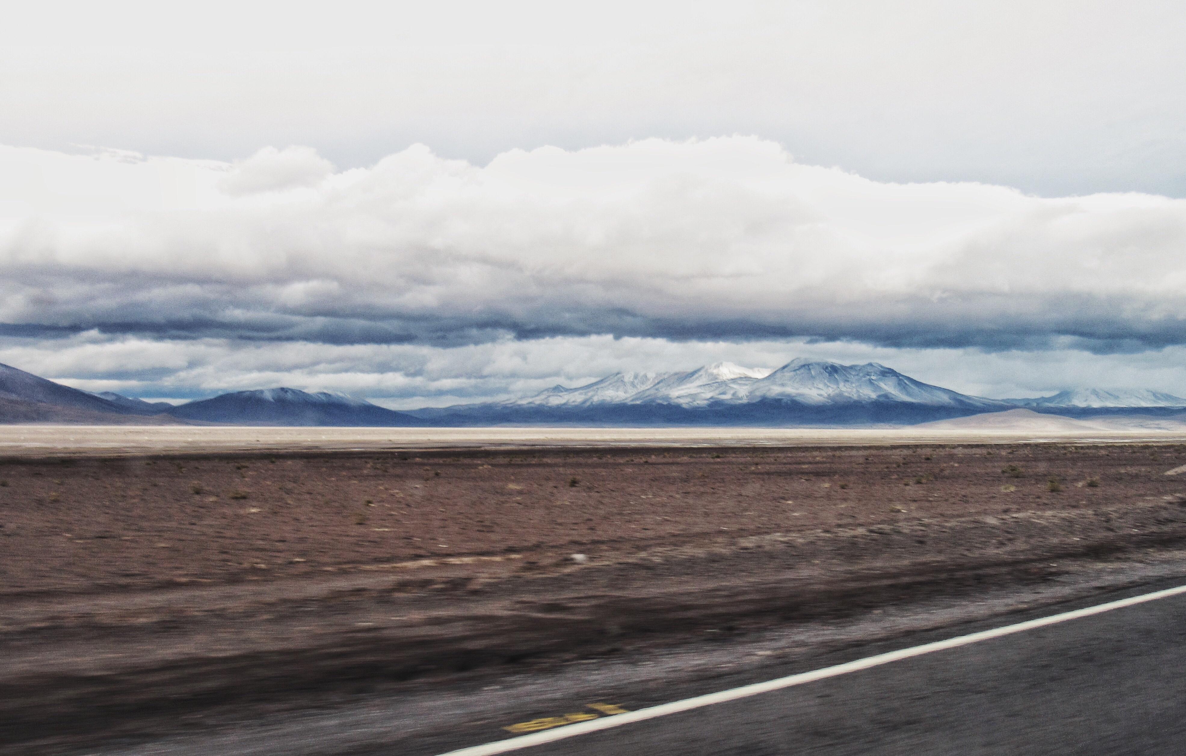 Primeira imagem do Chile