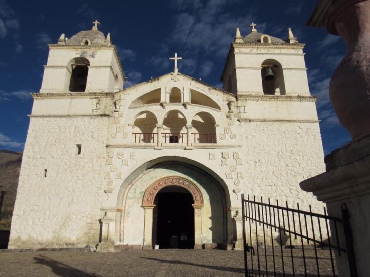 igreja de chivay