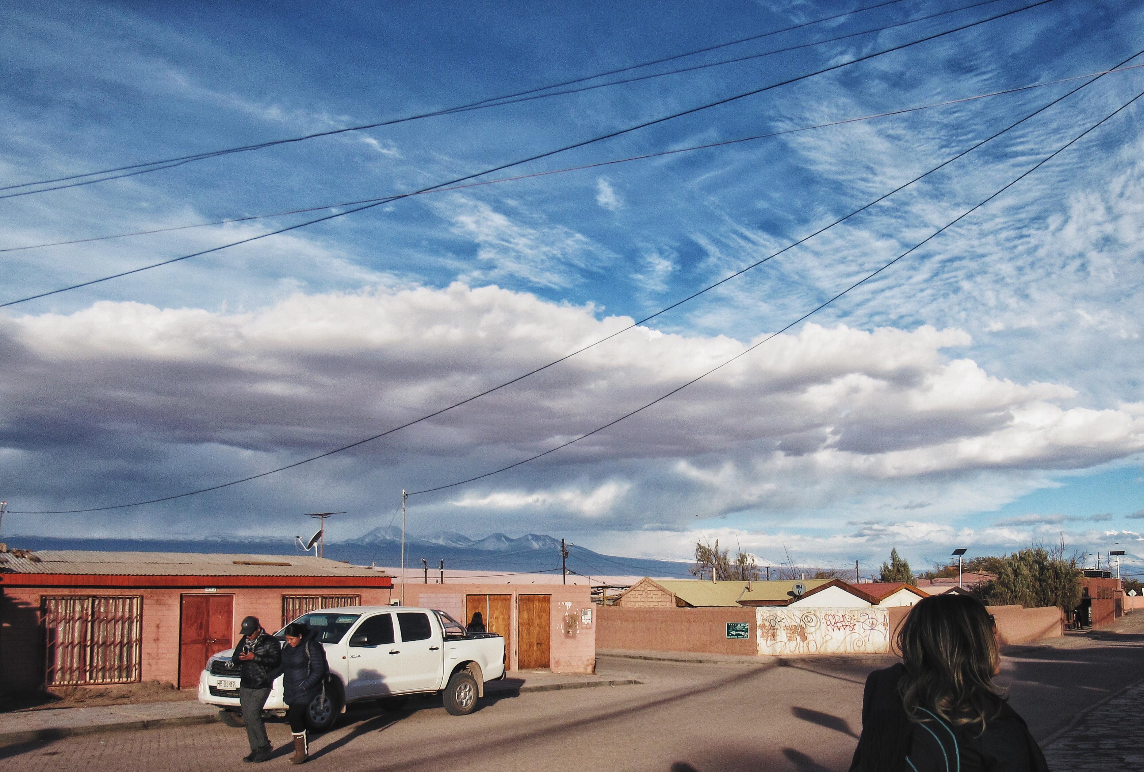 A cidade de San Pedro de Atacama