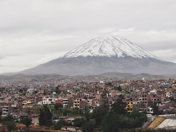 a cidade de Arequipa