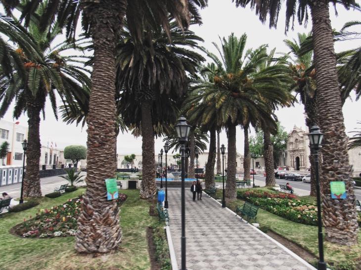 Plaza de Yanahuara