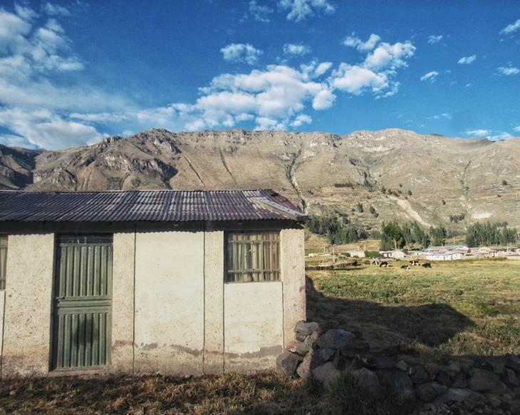 O caminho para o Valle del Colca