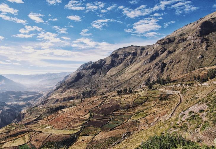 Região do valle del colca