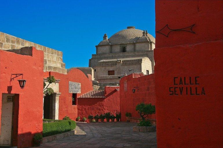 Monastério de Santa Catalina por arequipaperuestilo