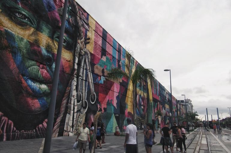 O Boulevard Olímpico