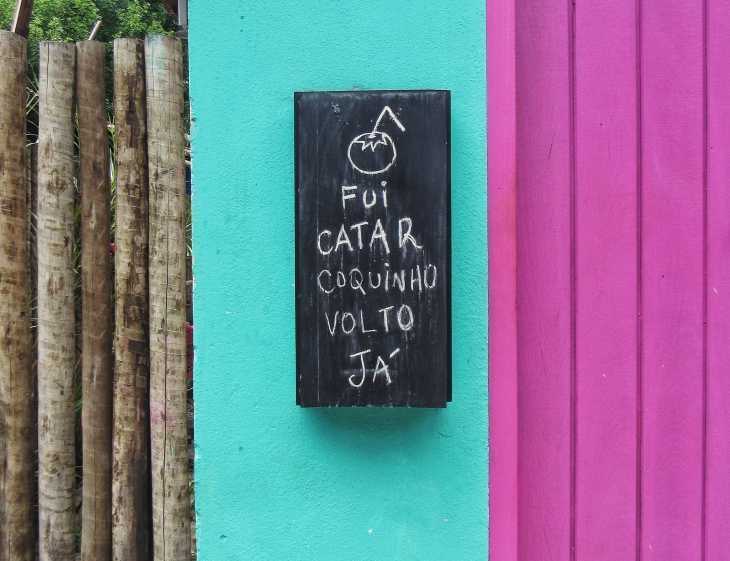 Uma casa em Caraíva
